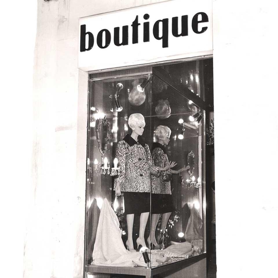 La Vetrina di Abbracciavento a Martina Franca negli anni 60