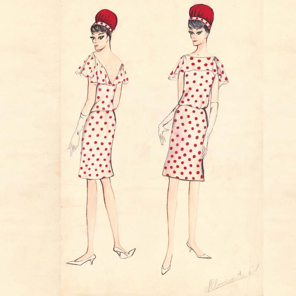 I disegni moda di Maria Abbracciavento