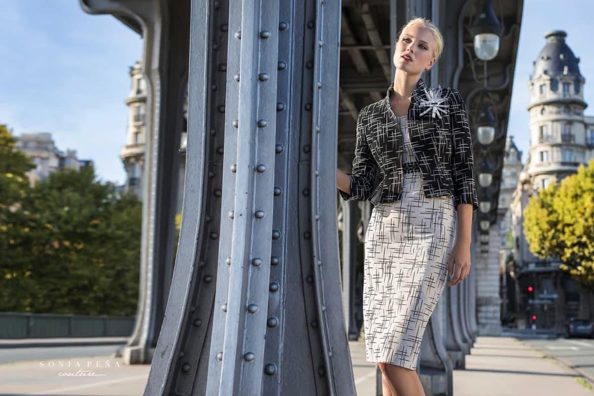 Sonia Pena Couture PE 2018 su Abbracciavento
