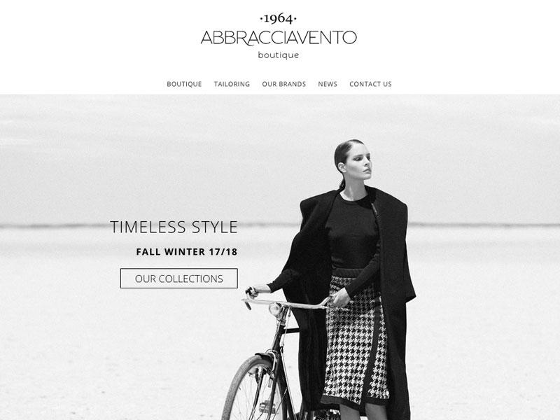 Il nuovo sito di Abbracciavento