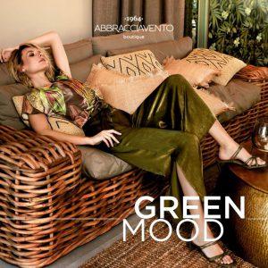 Green mood è il modo di essere delle donne, energia frizzante, voglia di bellezza